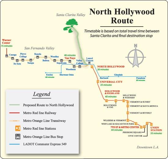 NoHo Express Map