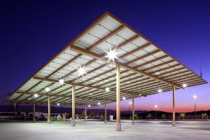 Solar Canopy Photo